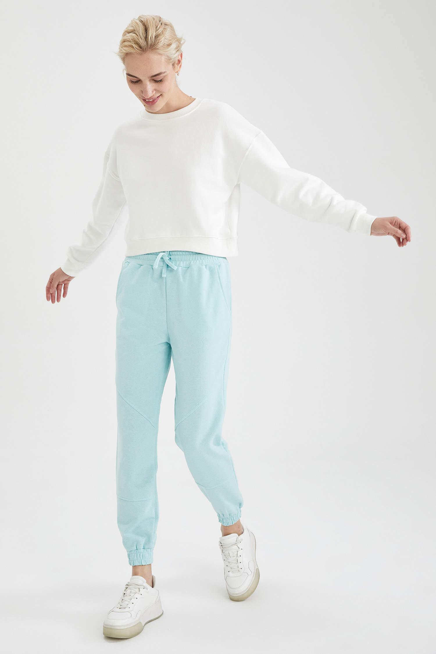 Спортивные штаны DeFacto, Color: Голубой, Size: S