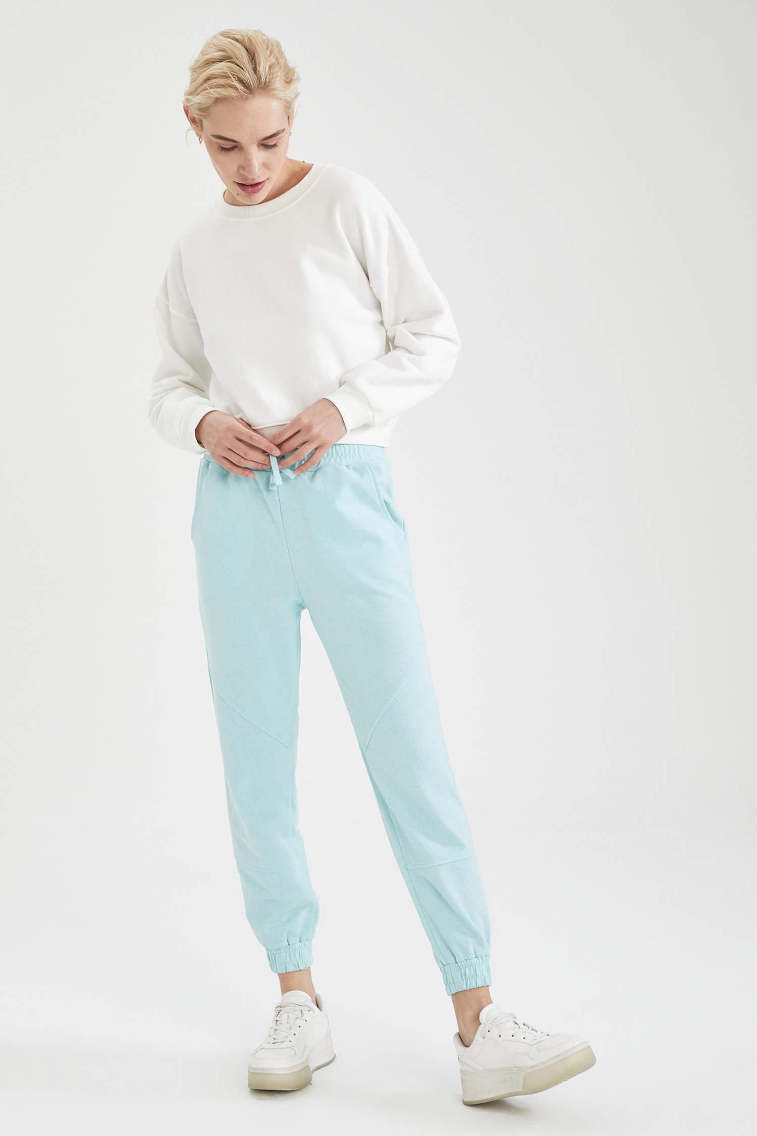 Спортивные штаны DeFacto, Color: Голубой, Size: S, 4 image