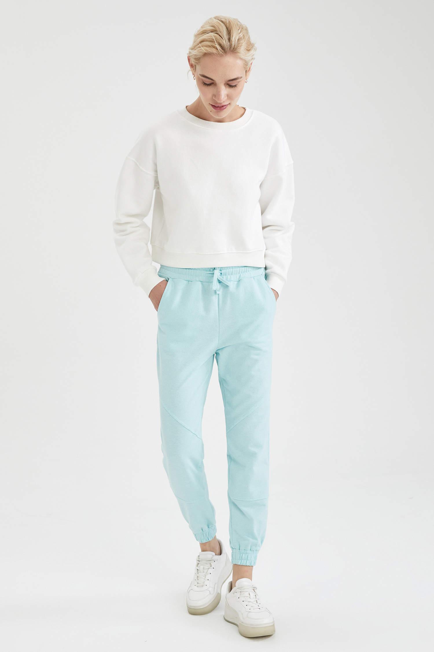 Спортивные штаны DeFacto, Color: Голубой, Size: S, 5 image