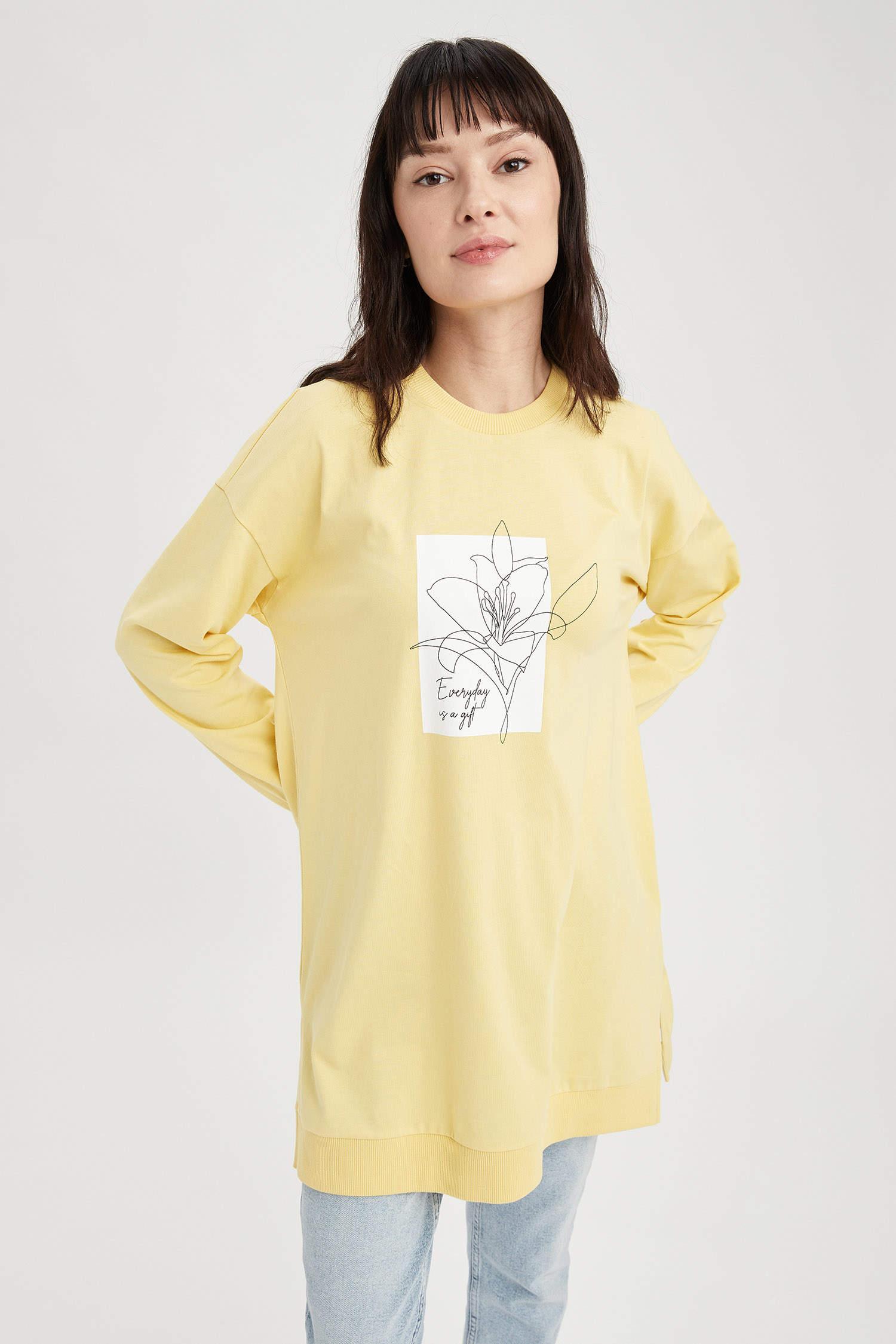 Туника DeFacto, Color: Yellow, Size: XL