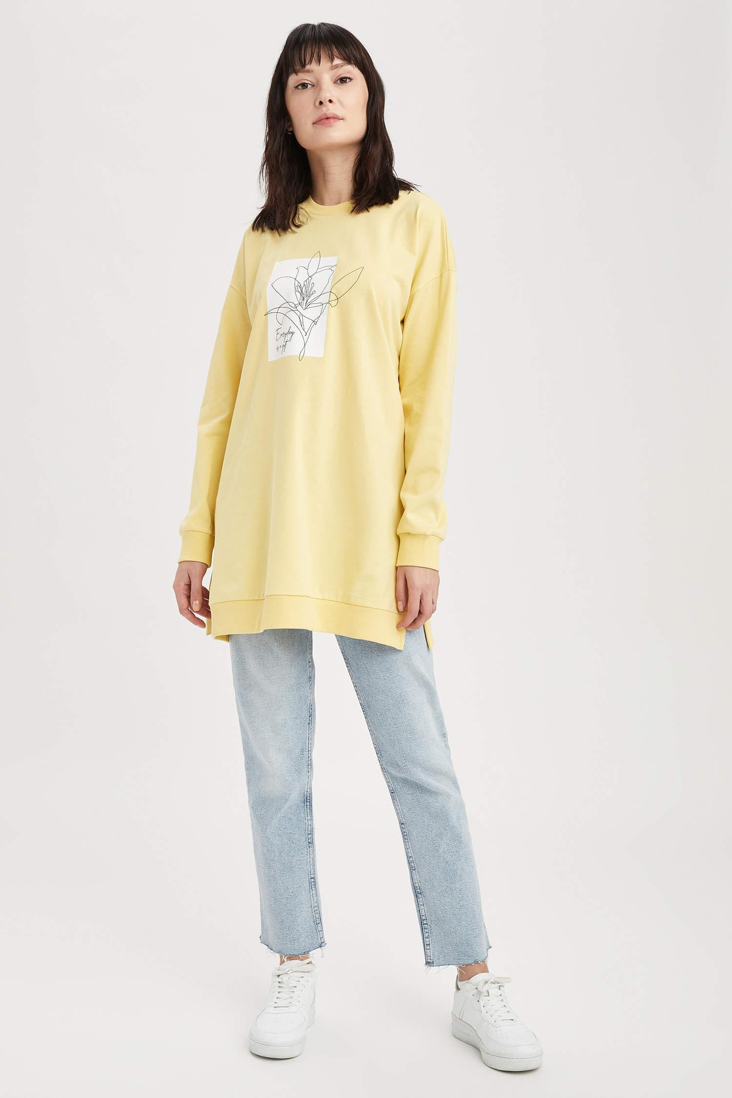 Туника DeFacto, Color: Yellow, Size: XL, 2 image