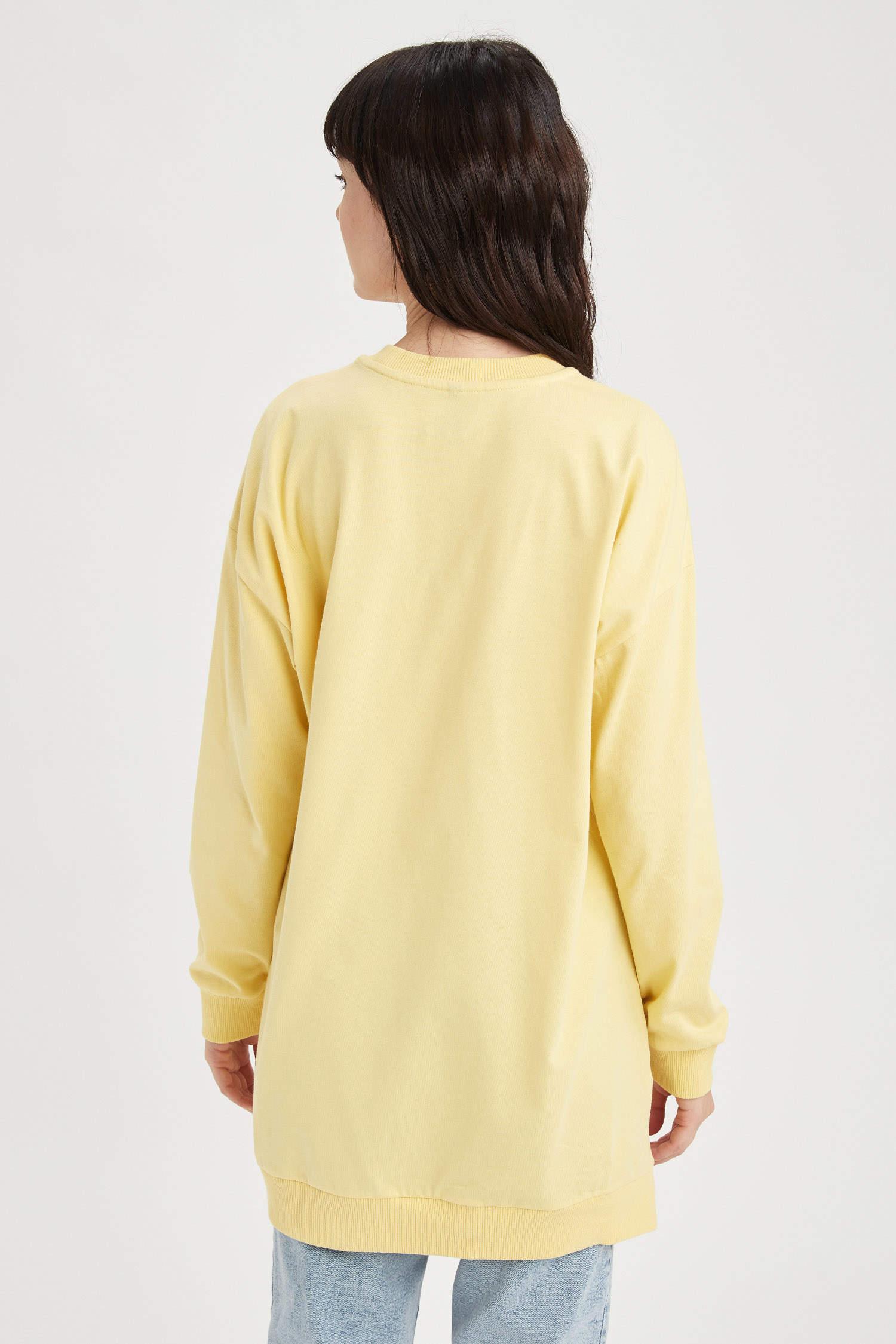 Туника DeFacto, Color: Yellow, Size: XL, 4 image