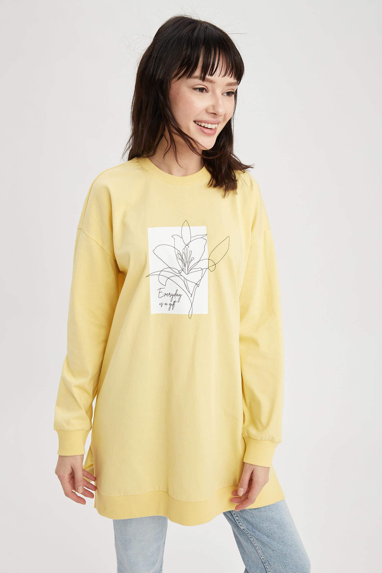 Туника DeFacto, Color: Yellow, Size: XL, 5 image