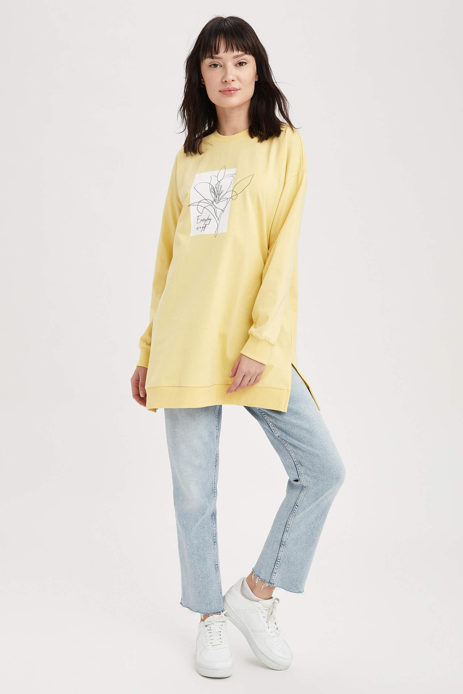 Туника DeFacto, Color: Yellow, Size: XL, 6 image
